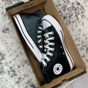 Converse Shoes - NIB Converse CTAS HI velvety women's sneakers